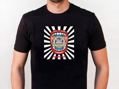 Baju T-Shirt G-SHOCK 4 NSQ216 siap poslaju