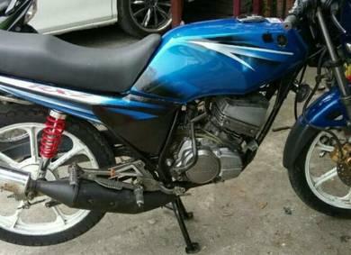 Yamaha Rxz nak tolak secepat mungkin