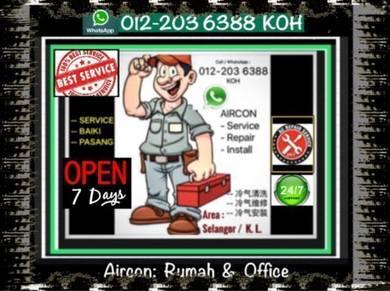 Aircon Pro aircond di KL/SEL- Gombak Dan sekitar
