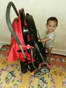 Baby carseat and baby stroller