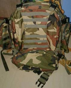 3Days Backpack Camo Army 50liter