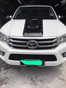 Toyota hilux revo bonnet scoop bodykit 2018