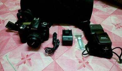 Nikon d90 full set