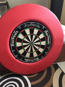 Dart Board with Custom Surround