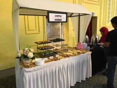 Buffet stall untuk katering