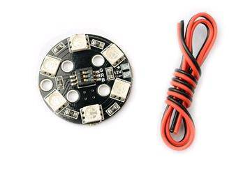 Matek RGB LED Circle Board 7-colors X8 16V For FPV