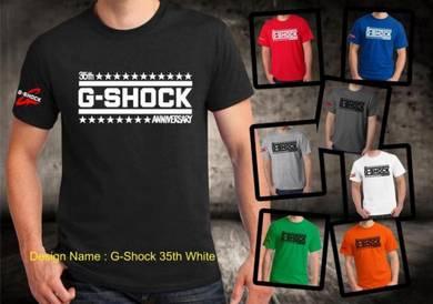 Baju T-Shirt G-SHOCK 16 NSQ229 siap poslaju