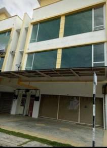 Taman Pelangi Indah, 3 storey shoplot for sale