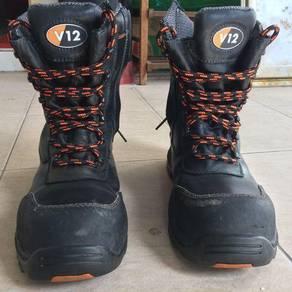 Safety shoes steel toe brand V12 value RM589