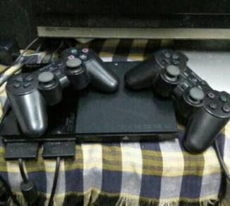 Play station 2.ory set
