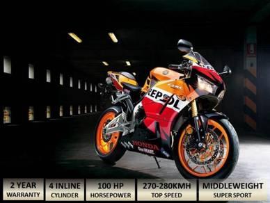 HONDA CBR 600RR Free Ekzos Akra(Apply Online)
