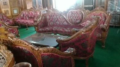 Sofa jati 3+2+1+1+meja