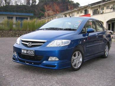 Honda city 2005 2006 2007 bodykit sportivo
