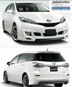 2011 Toyota wish admiration bodykit with paint