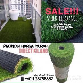 Promosi termurah rumput tiruan / artificial grass