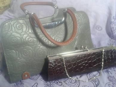 Hand Bag & Clutch Bag (Preloved(