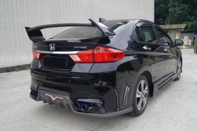 Honda city tommy kaira spoiler bodykit with paint