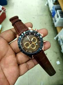 Leather watch edition