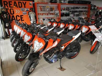 KTM DUKE 250 NEW-wasap apply muka ikut budget anda