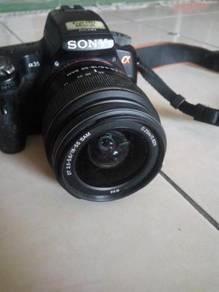 Sony alpha dslr camera