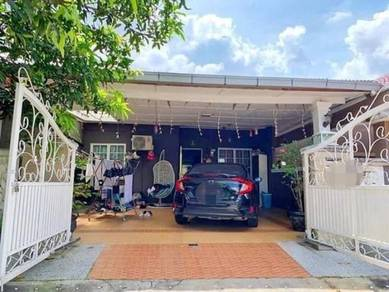 RENOVATED EXTENDED 1 Storey Terrace Taman Sakap Kajang CHEAP IN TOWN