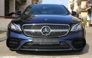 Mercedes benz diamond grill e-class bodykit w213