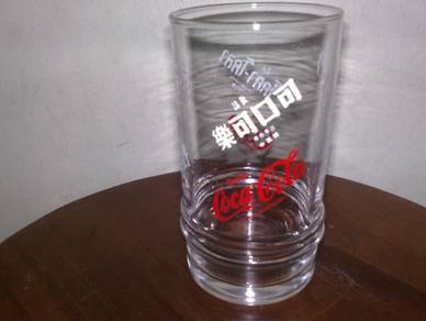 Cawan coca cola coke glass cup 1
