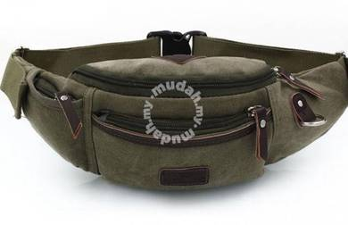 Trooper Pouch Sport Chest Men Waist Bag (Green)