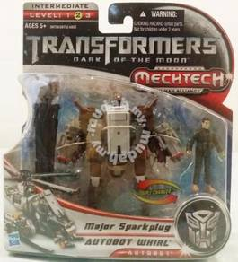 Transformers DOTM - Major Sparkplug + Whirl