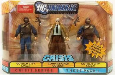 DC Universe - Commissioner Gordon and 2 SWAT