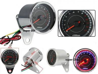 Digital 13K RPM meter LED Light universal Motor +-