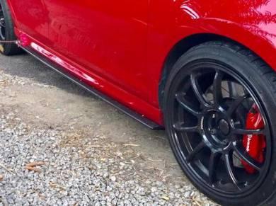 VW Golf Mk6 R Mk7 GTI R Side Skirt Lip Bodykit