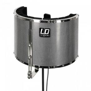 LD System RF1 Microphone Screen Vocal Booth (RF-1)