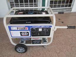 EuroPower 7.0kW Electric Start Gasoline Generator