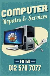 Perkhidmatan Membaiki & Servis komputer & laptop