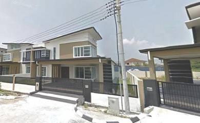 New Double Storey Corner House at Jalan Kong Ping