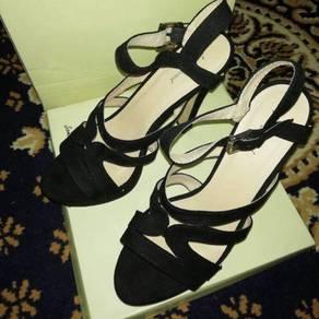 Strappy Slingback Platform Heels