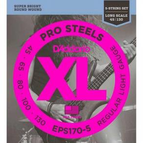 D'Addario ProSteels 5-String Bass String, EPS170-5