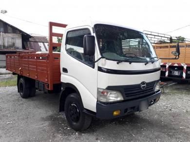 2006/07yrs Hino XZU413 Wooden Cargo 14ft 5000Kg