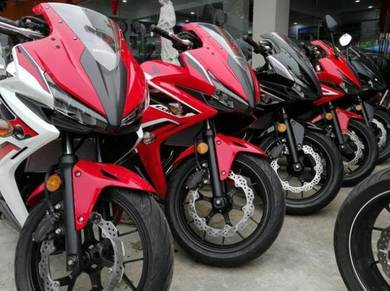 Honda CBR500R 19 Free Gift Items With Exhaust