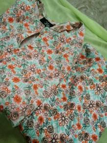 Cotton Baju Kurung Pahang