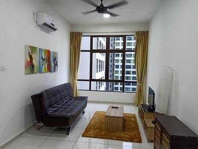 D'Summit /Fully Furnish/ STUDIO/ Setia Tropika / Condo Easy Travel CIQ