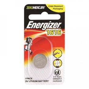 Energizer CR1616 Button Cell 3V Lithium Battery