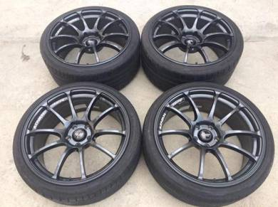 Advan Rz 19inch made in japan 5/114.3