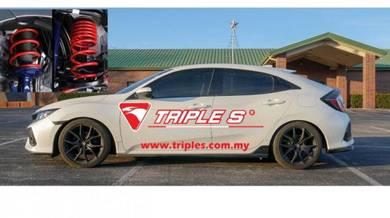 Triple s Honda Civic Fc Fb Fd Es Sport Spring