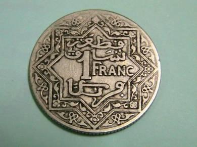 Morroco 1 Franc 1921
