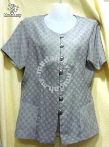 Grey nice fabric blouse