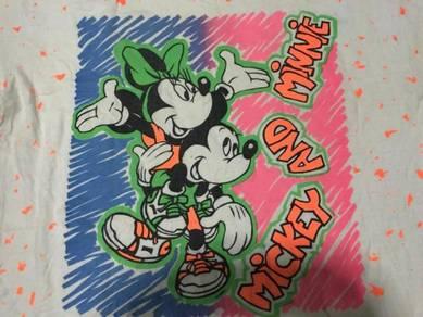 Mickey and minnie tee shirt
