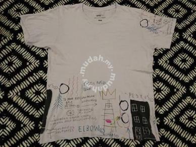 Jean michel basquiat t shirt by uniqlo size L