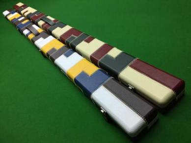Brand New Leatherette One Piece Snooker Cue Cases
